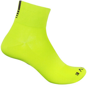 GripGrab Lightweight SL Short Socks yellow hi-vis